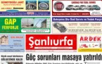 5 Ekim Şanlıurfa Gazete Manşetleri - 2018