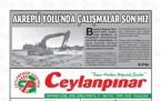 3 Eylül Şanlıurfa Gazete Manşetleri - 2018