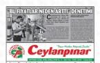 12 Eylül Şanlıurfa Gazete Manşetleri - 2018