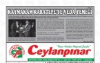 17 Eylül Şanlıurfa Gazete Manşetleri - 2018