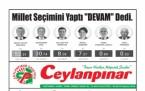 25 Haziran Şanlıurfa Gazete Manşetleri