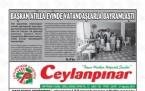27 Ağustos Şanlıurfa Gazete Manşetleri