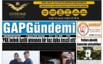 2 Ağustos Şanlıurfa Gazete Manşetleri