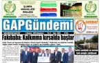 2 Haziran Şanlıurfa Gazete Manşetleri