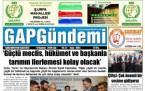5 Haziran Şanlıurfa Gazete Manşetleri