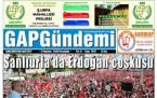 21 Haziran Şanlıurfa Gazete Manşetleri