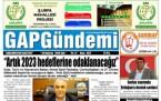 26 Haziran Şanlıurfa Gazete Manşetleri