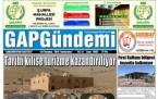 28 Temmuz Şanlıurfa Gazete Manşetleri