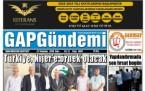 31 Temmuz Şanlıurfa Gazete Manşetleri