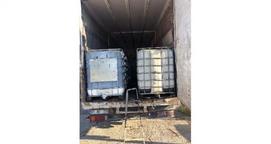 10 bin 600 litre kaçak akaryakıt ele geçirildi