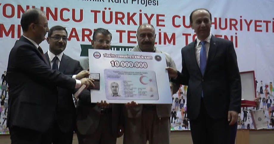 10 Milyonuncu kişi Şanlıurfa'dan!