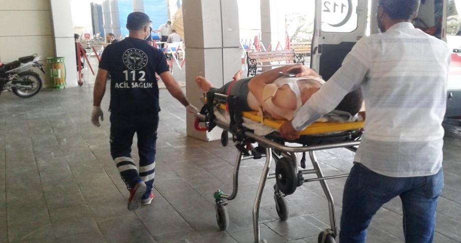 112 personeli kaza yaptı