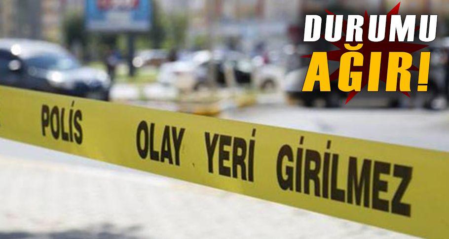 18 yaşındaki genç silahlı saldırıya uğradı!