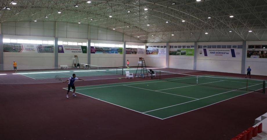 2019'un İlk Ulusal Tenis Turnuvası Şanlıurfa'da Yapılıyor