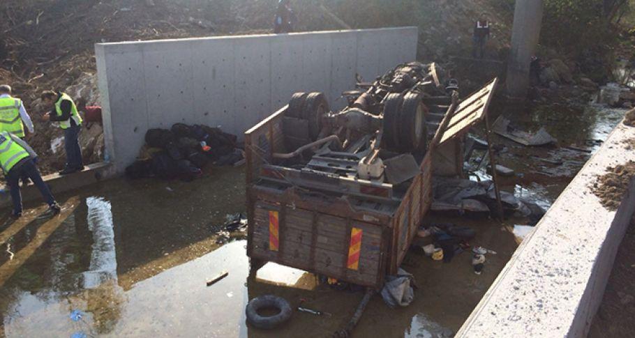 22 kişinin öldüğü feci kazada şoförün uyuduğu iddiası