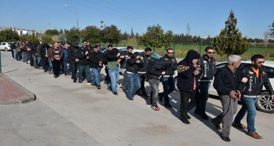 26 torbacı tutuklandı