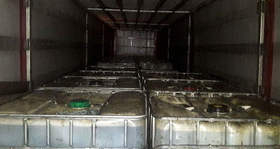 29 ton kaçak akaryakıt ele geçirildi