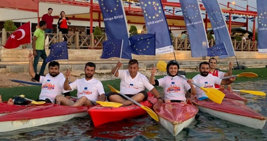 2.Avrupa Kano Yarışı Gerçekleştirildi