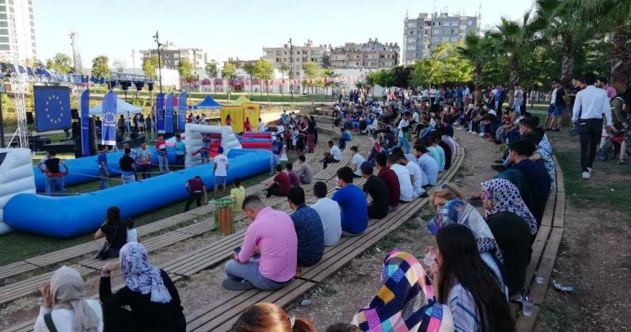 2.Avrupa Spor Festivali Sona Erdi