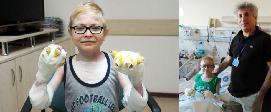 31 Ameliyat geçirdi sonunda sağlığına kavuştu