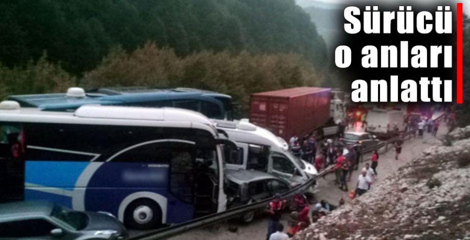34 Araç birbirine girdi! Feci kazada ölü ve yaralılar var