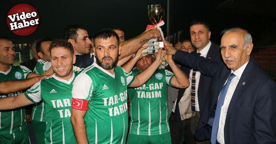 35 Yaş Üstü Futbol Turnuvasında şampiyonlar belli oldu