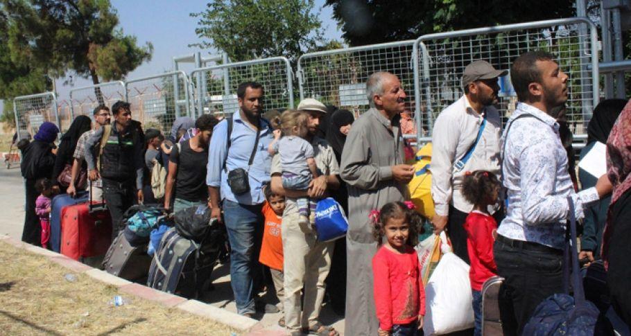 37 bin Suriyeli Türkiye'ye dönüş yaptı