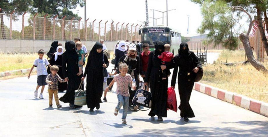 44 Bin Suriyeli Türkiye'ye geri döndü