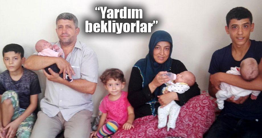 4 çocuklu aileye üçüz bebek