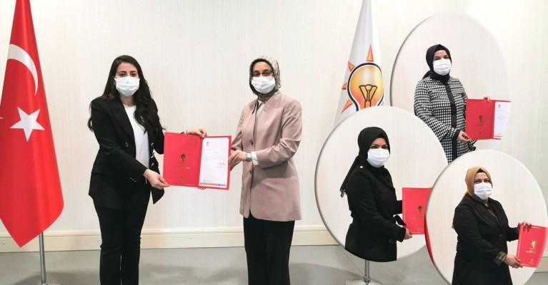 4 ilçenin AK Parti kadın kolları başkanları belli oldu!