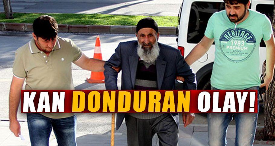85 Yaşındaki adama müebbet hapis!