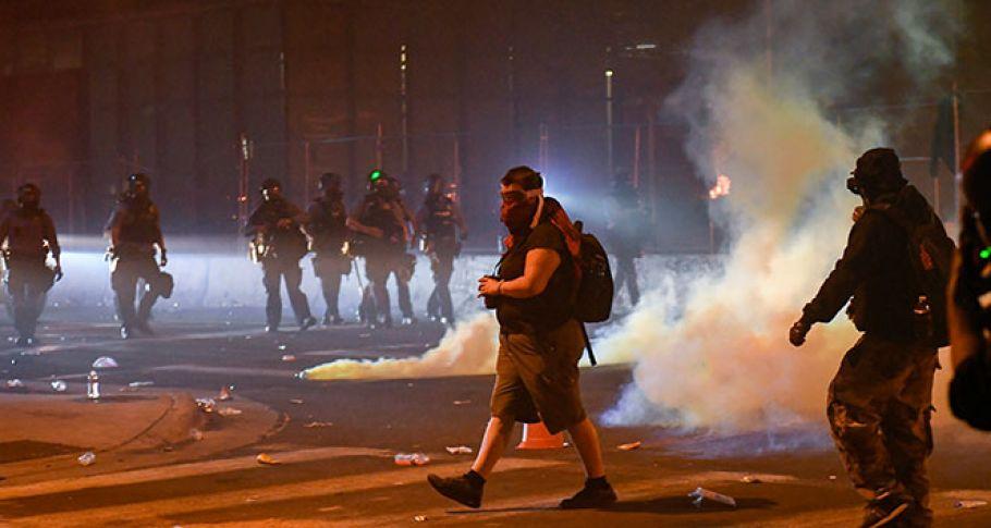 ABD'de devam eden protestolar kontrolden çıktı