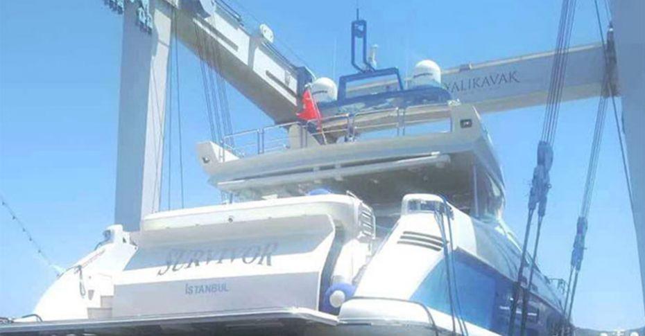 Acun Ilıcalı'nın 'Survivor' isimli teknesi batma tehlikesi geçirdi