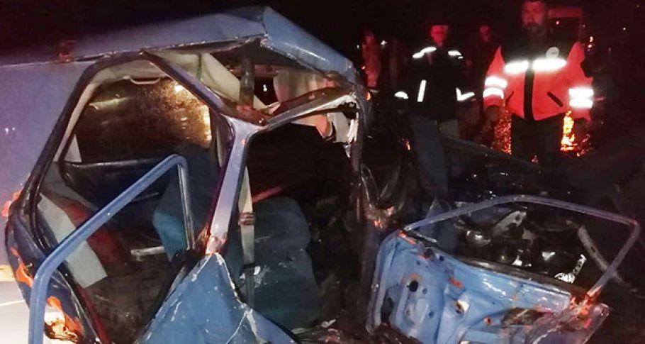 Adıyaman'da iki otomobil çarpıştı: 1 ölü, 1 yaralı