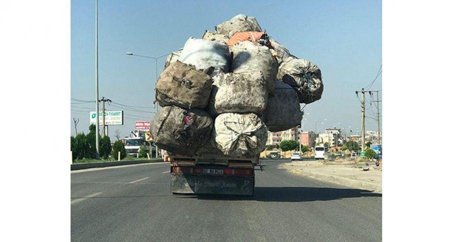 Adıyaman'da taşımacılığın böylesi