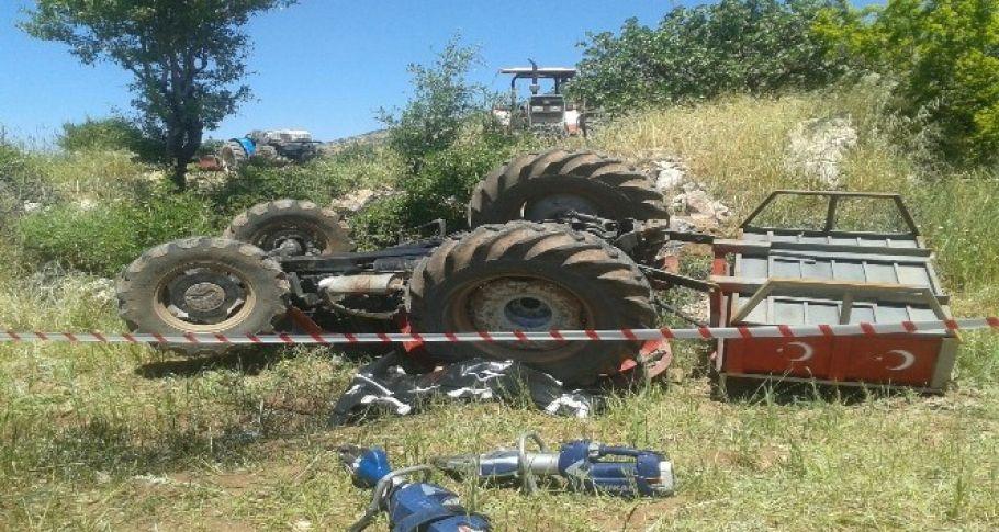 Adıyaman'da Traktörün altında kalan sürücü hayatını kaybetti