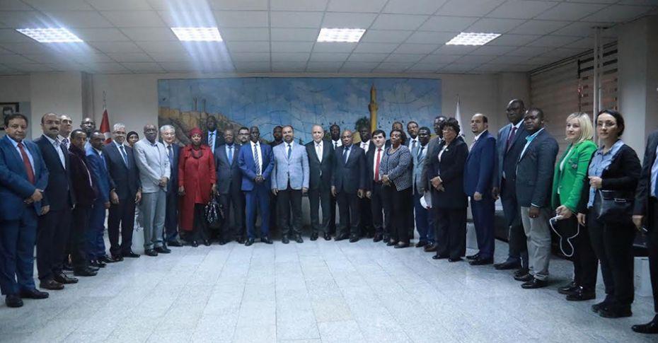 Afrika'nın Büyükelçileri Şanlıurfa'da