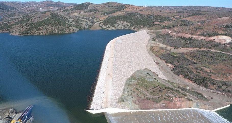 Afrin Barajı isale hattı tamamlandı