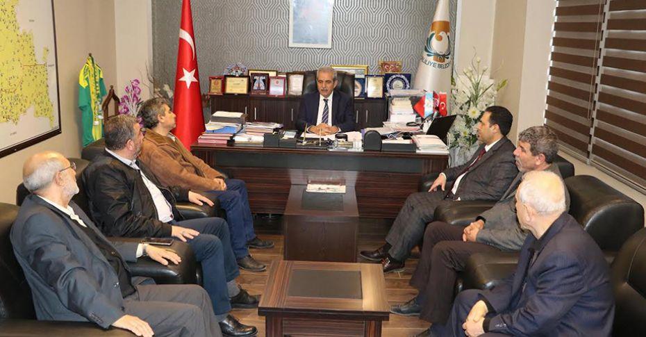 Afrin Şehidi Çubukçu'nun ailesinden Demirkol'a ziyaret