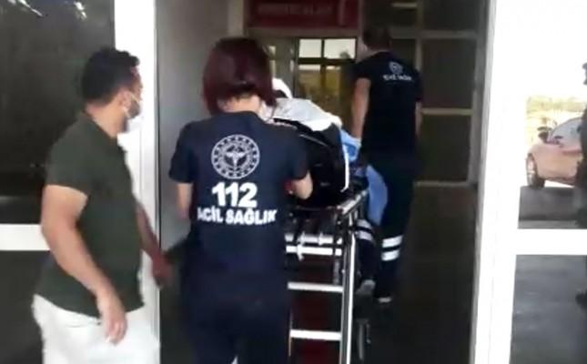 Ağır yaralı çocuk Şanlıurfa'ya sevk edildi