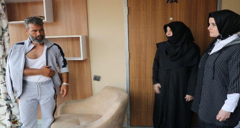 AK kadınlardan yaralı vatandaşlara ziyaret