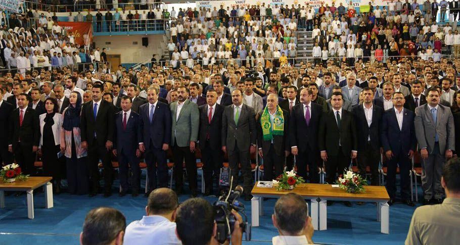 AK Parti Aday Tanıtım Toplantısı başladı!