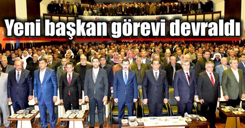 AK Parti Ceylanpınar 6. Olağan Kongresi yapıldı