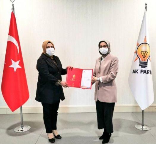 AK Parti Eyyübiye Kadın Kolları Başkanı belli oldu