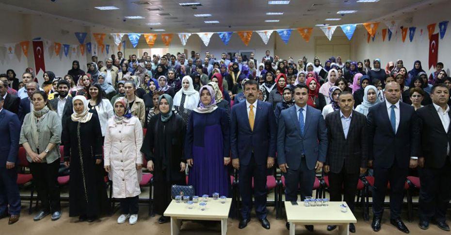 AK Parti Eyyübiye Kadın Kolları kongresi gerçekleştirildi