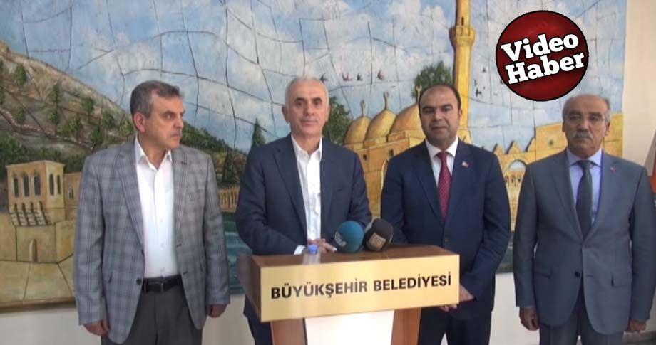 AK Parti Genel Başkan Yardımcısı Kaya Şanlıurfa'ya geldi