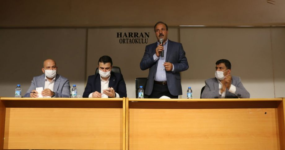 AK Parti Heyeti Harran'da (Videolu)