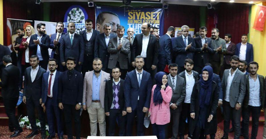 AK Parti Karaköprü Gençlik Kolları başkanı değişti