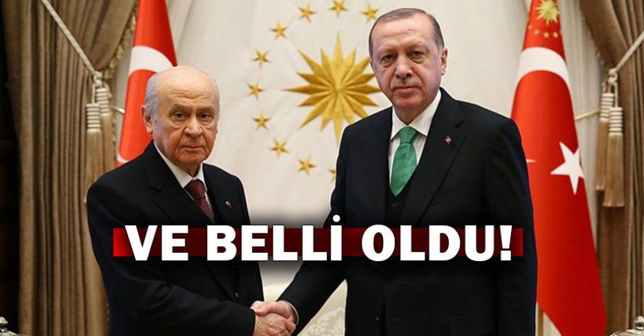 AK Parti - MHP ittifakında önemli gelişme!
