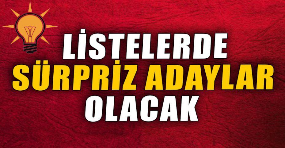 AK Parti Milletvekili Adayları listesi için son iki gün!